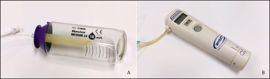 Protocolo de actuación de enfermería sobre el manejo de infusores continuos en cuidados palitivos
