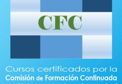 Enfermería Cursos certificados por la Comisión de Formación Continuada