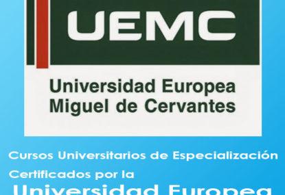 Enfermería Cursos Especialización Universidad Europea Miguel de Cervantes