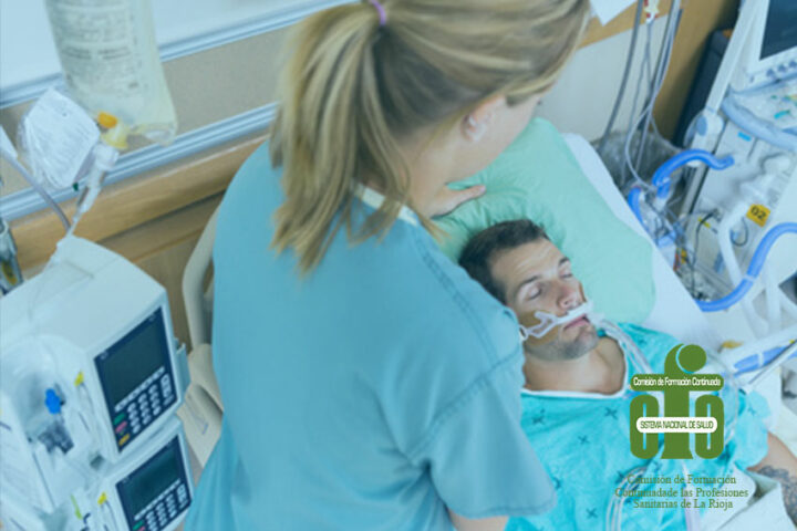 Curso online de actualización en atención al paciente crítico para enfermería