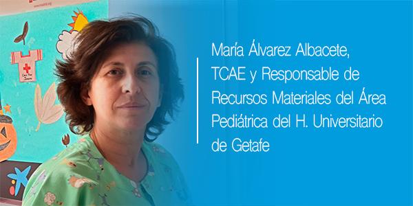 Descubre  con María Álvarez las funciones de un auxiliar de enfermería
