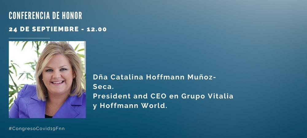 Congreso Covid 19. Conferencia Catalina Hoffmann