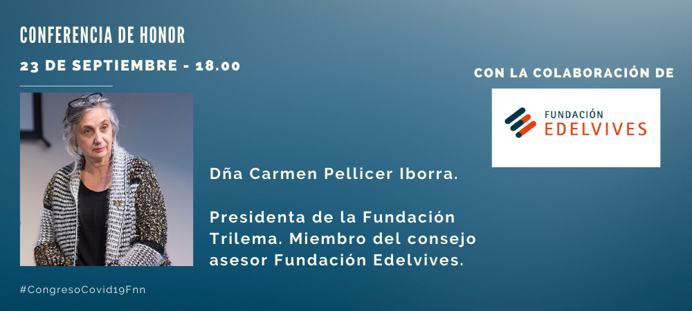 Congreso Covid 19. Conferencia Carmen Pellicer