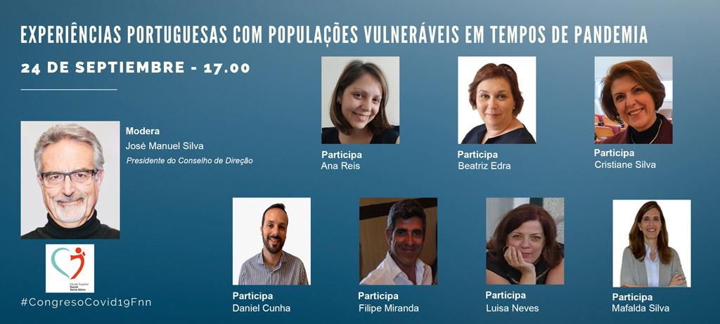 Congreso Covid 19. Experiencias Portuguesas