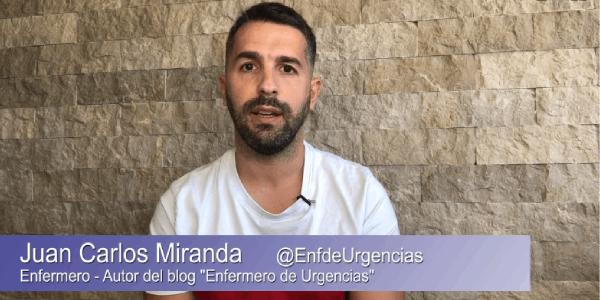 Juan Carlos Miranda, presentacion humanización de la salud en urgencias